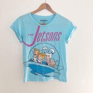 3d8945ce Hanna Barbera · Hanna Barbera-The Jetsons light blue t-shirt
